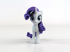 My Little Pony - Rarity (≈65mm tall) 3d printed