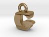 3D Monogram Pendant - GIF1 3d printed