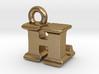 3D Monogram Pendant - HLF1 3d printed
