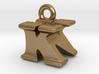 3D Monogram Pendant - KNF1 3d printed