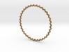 KnobbyKnot Bangle Bracelet SMALL 3d printed
