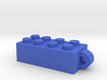 Stacking Block Necklace Charm 3d printed