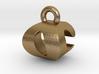 3D Monogram Pendant - OCF1 3d printed
