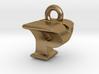 3D Monogram Pendant - PYF1 3d printed