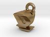 3D Monogram - QYF1 3d printed