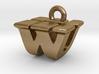 3D Monogram - WUF1 3d printed