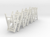 5 1:48 Wooden Folding Chairs 3d printed