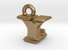 3D Monogram - YLF1 3d printed