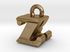 3D Monogram - ZRF1 3d printed