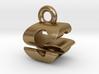 3D Monogram Pendant - GSF1 3d printed
