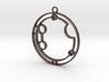 Autumn - Necklace 3d printed
