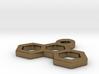 Pendant Three Hexagons 3d printed