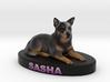 Custom Dog Figurine - Sasha 3d printed