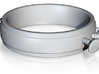 Nailed Wedding Ring - Size 6 3d printed
