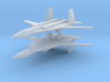 1/700 PAK-DA Stealth Bomber (x2) 3d printed
