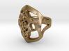 Circled Emblem Ring - EU Size 58 3d printed
