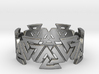 Valknut Ring. Sizes available  in links below. 3d printed