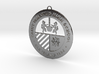 Saint Ignatius Logo Ornament 2014 3d printed