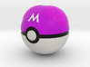 Master Ball Original Size (8cm in diameter) 3d printed