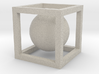 Sphere In A Cube 3d printed