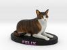 Custom Cat Figurine - Felix 3d printed