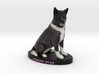 Custom Dog Figurine - Christi Star 3d printed