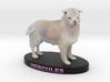 Custom Dog Figurine - Hercules 3d printed