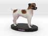 Custom Dog Figurine - Tobi 3d printed