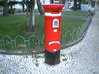 3 Portuguese mailboxes (1:160) 3d printed