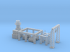 Electric Sub Power Station Z scale 3d printed