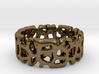 Voronoi Ultimate Man Ring 3d printed