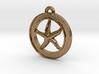 Starfish Circle-pendant 3d printed