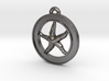 Starfish Circle-pendant 3d printed