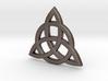 Triquetra Celtic Necklace Center Piece 3d printed