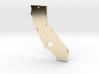 I Love California Necklace Pendant 3d printed