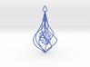 Christmas Tree Ornament (Bauble) - Snowflake 3d printed Christmas Tree Ornament