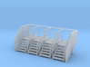 Factory Stairs in HO Scale - 4 sets 3d printed