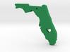 I love Florida Pendant 3d printed