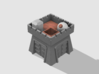 Clash of Clans Clan Castle 3d printed