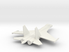 Su-27 Flanker B Russian Jet 1/285 scale 3d printed