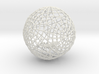 Bauble, Ball, Spider in Web 3d printed