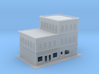 City Corner Building left side 2  3d printed City Building 2 Zscale