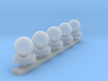 Mobela Mobile Siren - Set of 5 3d printed