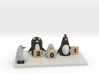 Robo Penguin Researching Penguins who rate him 3d printed