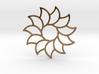 Dreamcatcher - Sunflower  3d printed