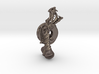 Dragon doorhandle 005 3d printed dragondoorhandle no.5 - Render in stainless steel