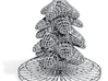 Wireframe Christmas Tree 2014 3d printed