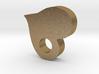 HEART LOVE FOR ART (Pendant or Earring) 3d printed