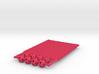 'Sprued' Star Tetrahedron Half-pack #color 3d printed