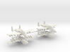 1/285 Two-Seater A-10 Thunderbolt II (Armed) (x2) 3d printed 1/285 Two-Seater A-10 Thunderbolt II (Armed) (x2)
